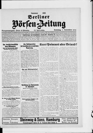 Berliner Börsen-Zeitung vom 07.11.1926