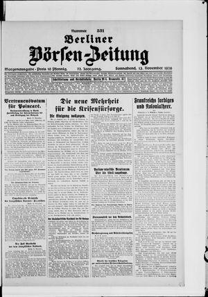 Berliner Börsen-Zeitung vom 13.11.1926