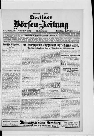 Berliner Börsen-Zeitung vom 12.12.1926