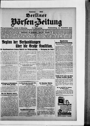 Berliner Börsen-Zeitung vom 16.12.1926