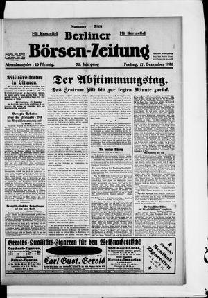 Berliner Börsen-Zeitung vom 17.12.1926