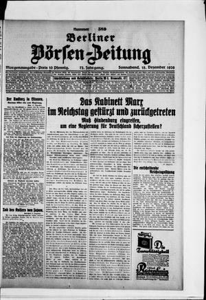 Berliner Börsen-Zeitung vom 18.12.1926