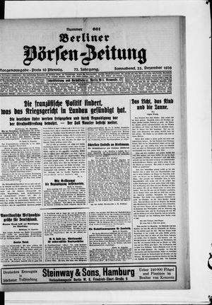Berliner Börsen-Zeitung vom 25.12.1926