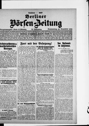 Berliner Börsen-Zeitung vom 30.12.1926