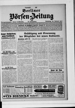 Berliner Börsen-Zeitung on Jan 30, 1927