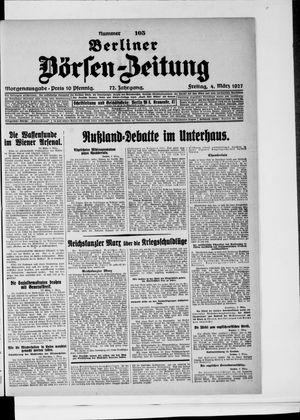 Berliner Börsen-Zeitung vom 04.03.1927