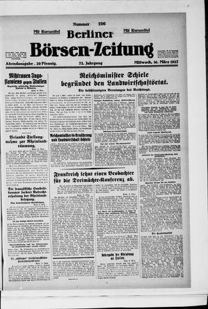 Berliner Börsen-Zeitung vom 16.03.1927
