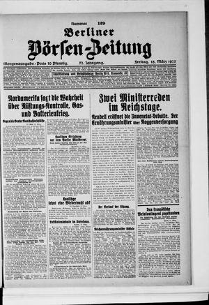 Berliner Börsen-Zeitung vom 18.03.1927