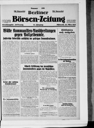 Berliner Börsen-Zeitung vom 23.03.1927