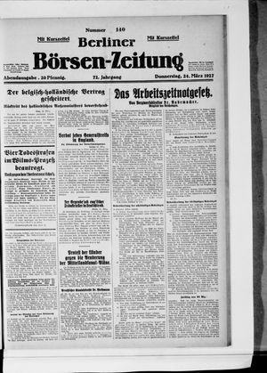 Berliner Börsen-Zeitung vom 24.03.1927