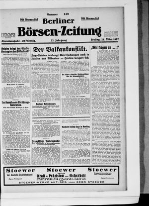 Berliner Börsen-Zeitung vom 25.03.1927