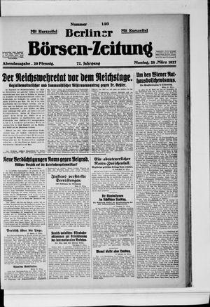 Berliner Börsen-Zeitung vom 28.03.1927