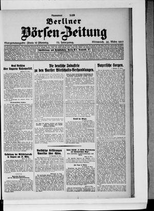 Berliner Börsen-Zeitung vom 30.03.1927