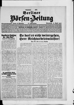 Berliner Börsen-Zeitung vom 12.04.1927