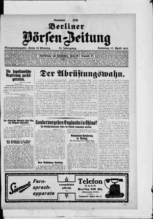Berliner Börsen-Zeitung vom 17.04.1927