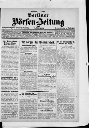 Berliner Börsen-Zeitung on May 5, 1927