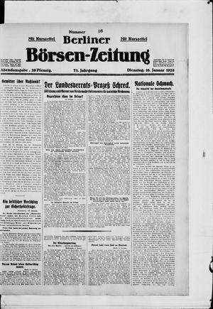 Berliner Börsen-Zeitung vom 10.01.1928