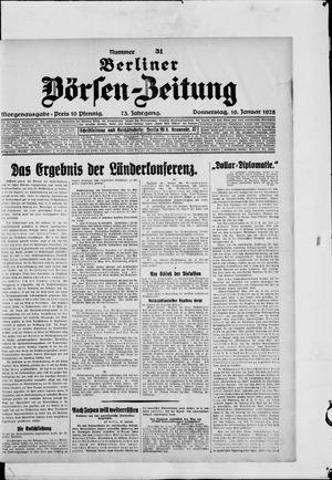 Berliner Börsen-Zeitung vom 19.01.1928