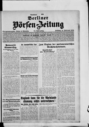 Berliner Börsen-Zeitung vom 10.02.1928