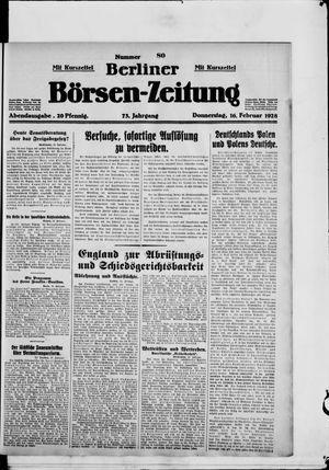 Berliner Börsen-Zeitung vom 16.02.1928