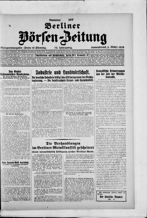Berliner Börsen-Zeitung vom 03.03.1928