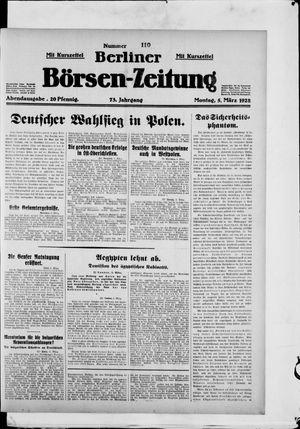 Berliner Börsen-Zeitung vom 05.03.1928