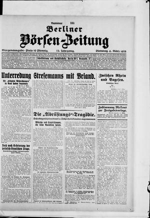 Berliner Börsen-Zeitung on Mar 6, 1928