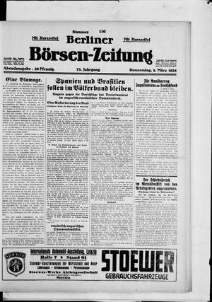 Berliner Börsen-Zeitung on Mar 8, 1928
