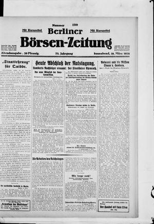 Berliner Börsen-Zeitung vom 10.03.1928