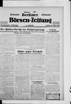 Berliner Börsen-Zeitung vom 12.03.1928