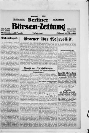 Berliner Börsen-Zeitung vom 14.03.1928