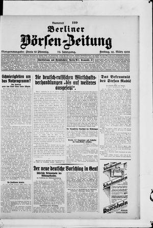 Berliner Börsen-Zeitung vom 16.03.1928