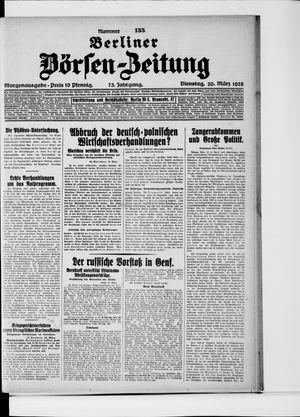 Berliner Börsen-Zeitung vom 20.03.1928