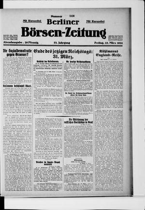 Berliner Börsen-Zeitung vom 23.03.1928
