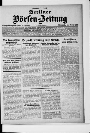 Berliner Börsen-Zeitung vom 28.03.1928