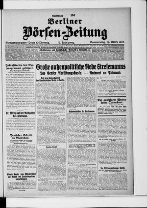 Berliner Börsen-Zeitung vom 29.03.1928