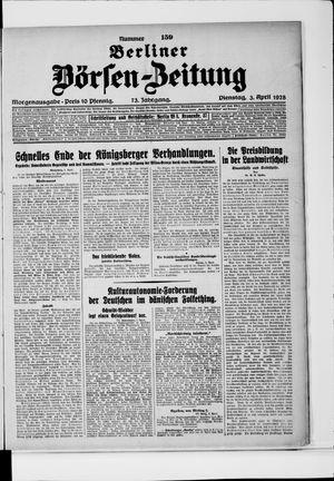 Berliner Börsen-Zeitung vom 03.04.1928