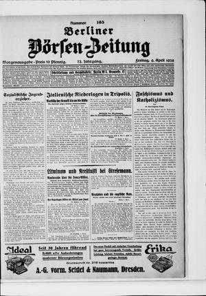 Berliner Börsen-Zeitung vom 06.04.1928