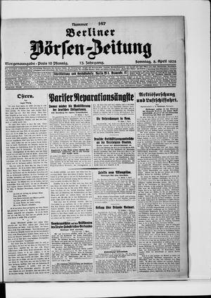 Berliner Börsen-Zeitung on Apr 8, 1928