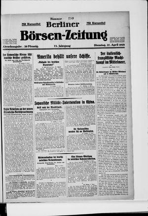 Berliner Börsen-Zeitung vom 17.04.1928