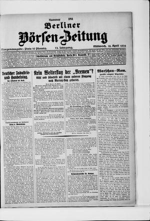 Berliner Börsen-Zeitung vom 18.04.1928