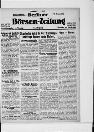 Berliner Börsen-Zeitung vom 24.04.1928