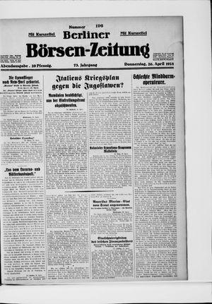 Berliner Börsen-Zeitung vom 26.04.1928