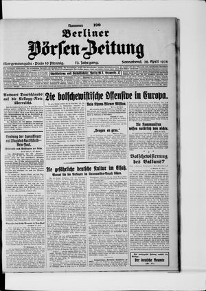 Berliner Börsen-Zeitung vom 28.04.1928