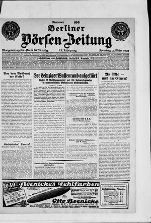 Berliner Börsen-Zeitung vom 02.03.1930