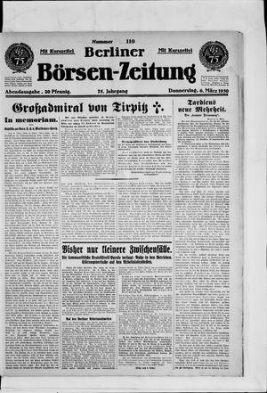 Berliner Börsen-Zeitung vom 06.03.1930