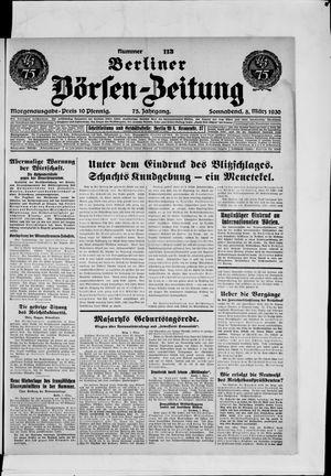 Berliner Börsen-Zeitung vom 08.03.1930