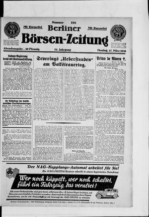 Berliner Börsen-Zeitung vom 17.03.1930