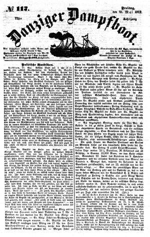 Danziger Dampfboot für Geist, Humor, Satire, Poesie, Welt- und Volksleben, Korrespondenz, Kunst, Literatur und Theater vom 21.05.1852