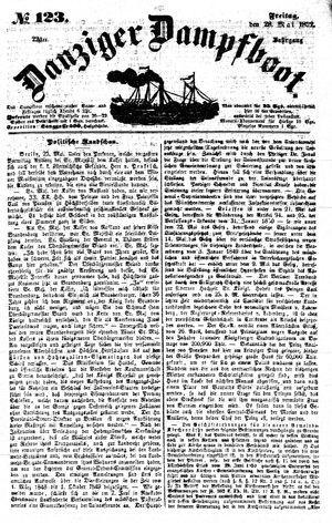 Danziger Dampfboot für Geist, Humor, Satire, Poesie, Welt- und Volksleben, Korrespondenz, Kunst, Literatur und Theater vom 28.05.1852